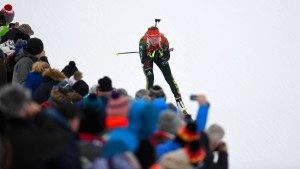 Dahlmeier sprintet knapp am Sieg vorbei