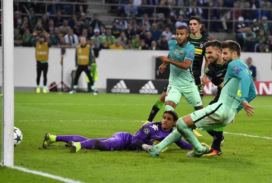 Mönchengladbach Gegen Barcelona