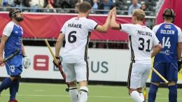 Deutsche Hockey-Herren schießen sich warm