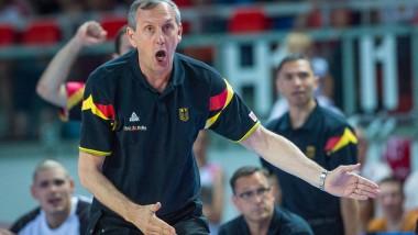 Hatte noch viel zu meckern: Bundestrainer Emir Mutapcic