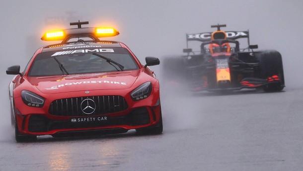 Höhere Gewalt bremst die Formel 1 in Belgien