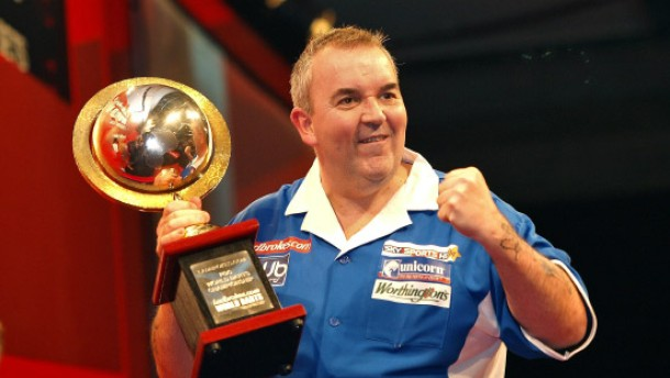 """""""Power Cut"""" bei Phil Taylor"""