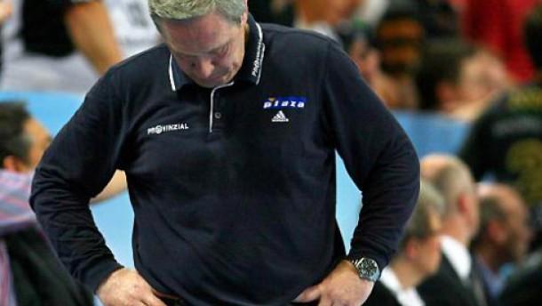 Handball-Trainer Serdarusic muss wohl gehen