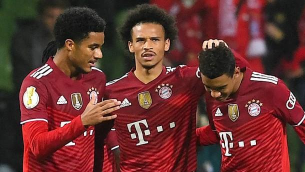 Die Bayern haben leichtes Spiel in Bremen