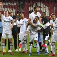 Jubelnächte der Frankfurter Eintracht: ein Grund für den Imagegewinn des Fußballklubs