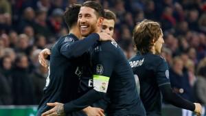 Kroos und Real Madrid auf dem Weg ins Viertelfinale