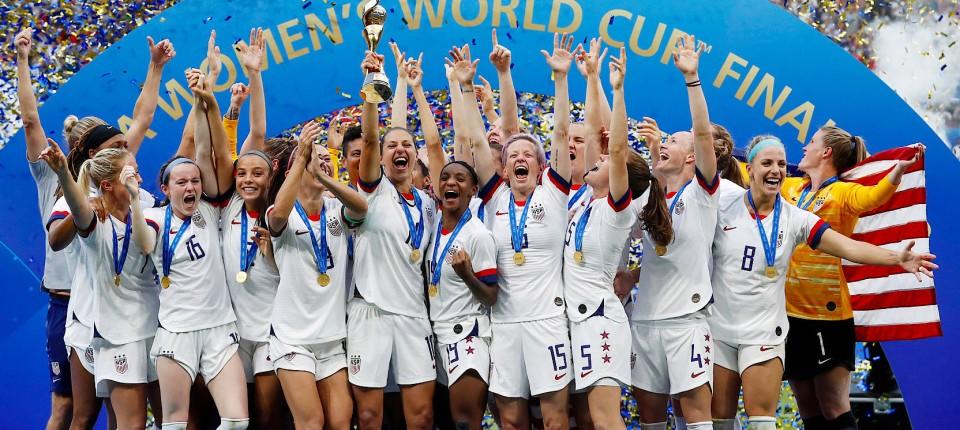 Frauenfussball Wm Trump Lobt Us Spielerinnen Nach Titel