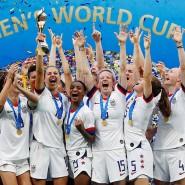 Wieder Weltmeister: Die amerikanischen Frauen bejubeln den Finalsieg.
