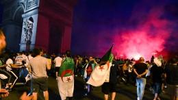 Eine Tote bei Feier von algerischen Fans in Frankreich