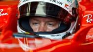 Sebastian Vettel steht unter Beobachtung beim Rennen in Österreich.