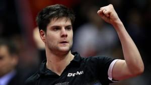 Ovtcharov neue Nummer eins der Tischtennis-Welt