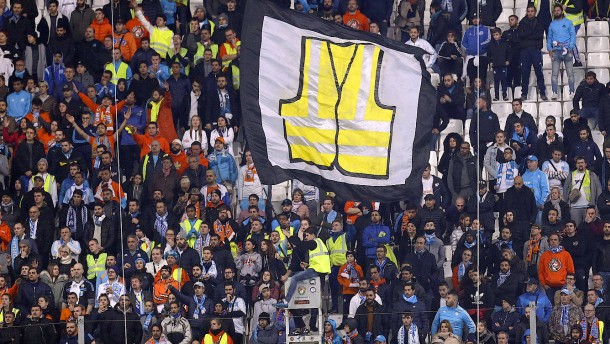 Fußballspieltag in Frankreich fällt auseinander