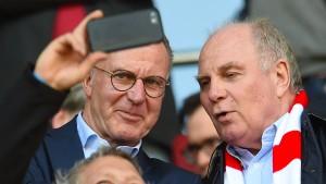 Die Bayern schießen ziemlich scharf zurück