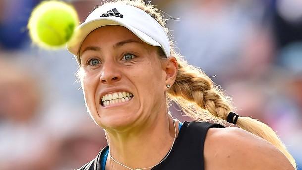 Schwere Auslosung für Kerber in Wimbledon