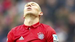 Die Bayern mühen sich zum Remis