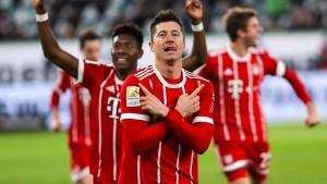 Rotation und Bayern-Dusel