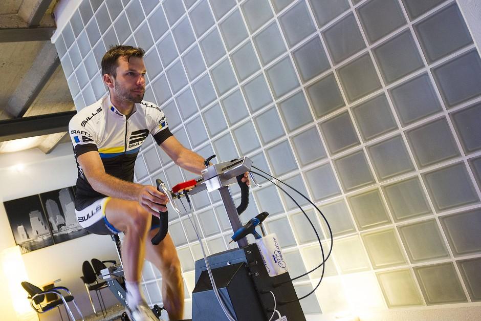 Indoor-Radfahren beschäftigt ihn schon lange: Tim Böhme