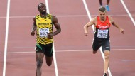 Reus verfolgt Bolt