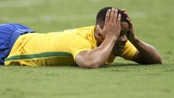 Brasiliens Fußballer blamieren sich gegen Irak