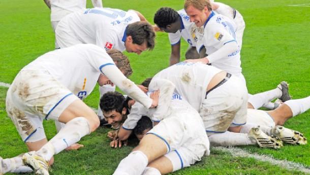 Rostock verliert in letzter Sekunde - Frankfurt gewinnt