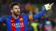 Lionel Messi trug maßgeblich zum Barcelona-Weiterkommen bei.