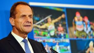 DOSB fordert 100 Millionen Euro vom Bund