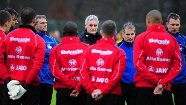 Trainingsauftakt Eintracht Frankfurt