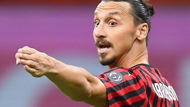 Aufwärmtraining mit Zlatan