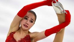 15 Jahre alte Alina Sagitowa verzaubert alle