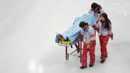 Nordkoreaner vor Olympia verletzt