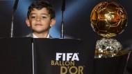 Auch für Ronaldo junior gab es einiges zu sehen in Zürich