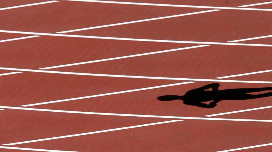 Kein Ausweg in Sicht: Leichtathletik-Meisterschaften sind verschoben.