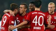 Götze bringt sich bei den Bayern in Stellung