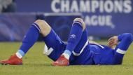 Enttäuschung pur: Schalke um Mark Uth muss eine bittere Niederlage einstecken in der Champions League.