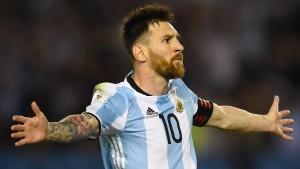 Kein Problem für Messi und Argentinien