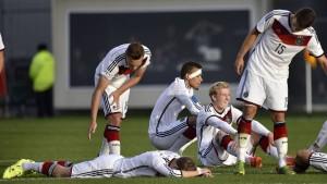 Deutschland scheitert im Elfmeterschießen