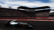 Farbenfroh: Rosberg startet als Erster beim Grand Prix von Mexiko