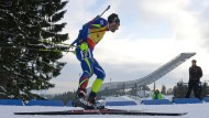 Vier Starts, vier Siege: der Franzose Fourcade dominiert die Biathlon-Welt