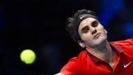 Federer startet mit Sieg - Murray verliert
