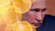 Noch Gold im Visier: Wladimir Putin auf seiner Pressekonferenz am Donnerstag.