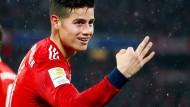 Drängt er sich auf? James muss beim FC Bayern noch Überzeugungsarbeit leisten.