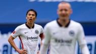 Enttäuscht nach Spielschluss: Makoto Hasebe