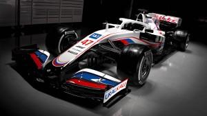 Team Haas präsentiert Mick Schumachers Dienstwagen