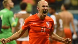 Arjen Robben, der Dosenöffner