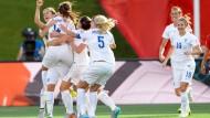 Ein Sig auch für Deutschland: Lucy Bronze hat für England getroffen