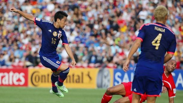 Japan gewinnt mit halber Bundesliga-Startelf