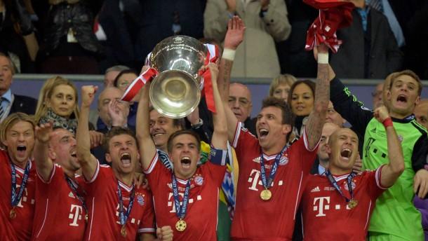 Die Bayern endlich im Himmel