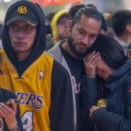 Trauer in Los Angeles: Fans von Kobe Bryant gedenken ihrem Idol.
