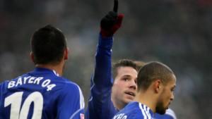 Leverkusen holt sich Platz zwei zurück