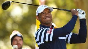 Ein Militärberater für das Team von Tiger Woods